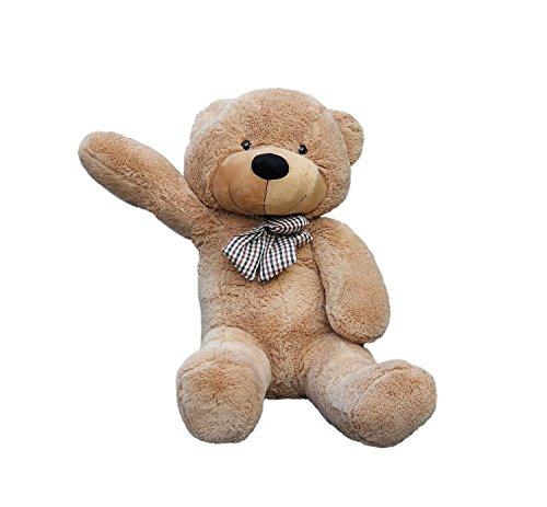 Joyfay 120 cm gigante Teddy Bear 120 cm (47') colore: marrone, Big Teddy Bear-Orsetto di peluche, Extra Large XXL, ottima idea regalo per Natale, compleanno, anniversario, San Valentino peluche giganti orso peluche gigante