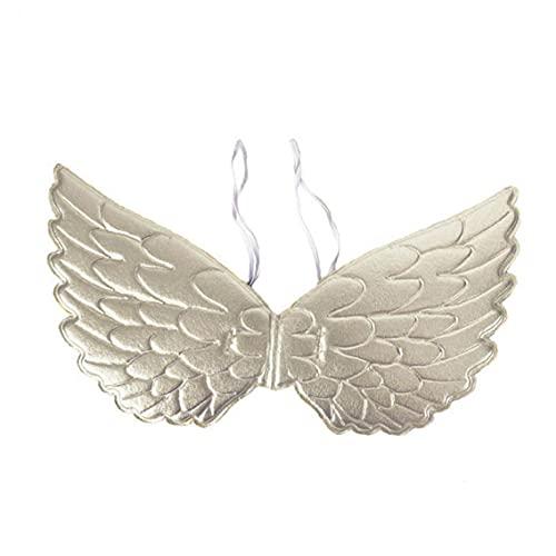 1pc Kids Angel Wings Cosplay Props Halloween Halloween Party Disfraces, Boda, Festival (Plata) Accesorios de Halloween