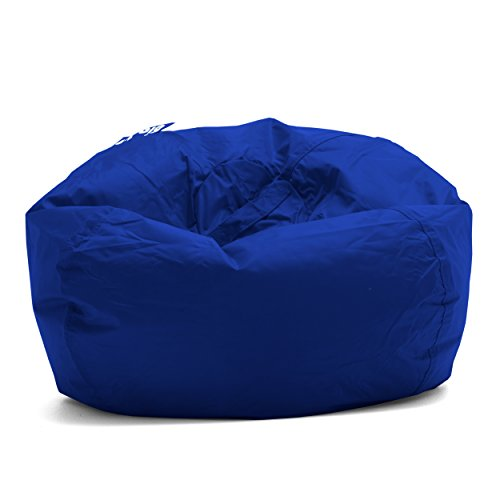 "Big Joe Classic 98 Bean Bag Chair, 33""L x 33""W x 20""H, Sapphire"