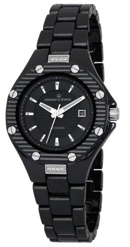 Herzog & Söhne Damen-Armbanduhr XS Analog Quarz Keramik HSV01-622