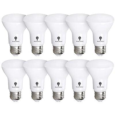 10 Pack BR20 LED Bulb 3000K 7W 50 Watt Equivalent - Dimmable - 550 Lumens E26 Warm White LED Can Light Bulbs for Bedroom, Kitchen, Pendant, R20 LED Bulb for Dinning Room - Small Mini Flood Light Bulb