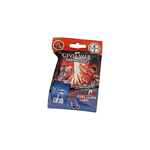 WizKids Dice Masters VF: Civil War Boosters Pack of 90