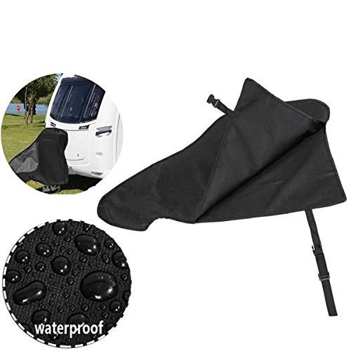 Riiai Universal-Abdeckung für Anhängerkupplung, wasserdicht, für Wohnwagen, mit Haken