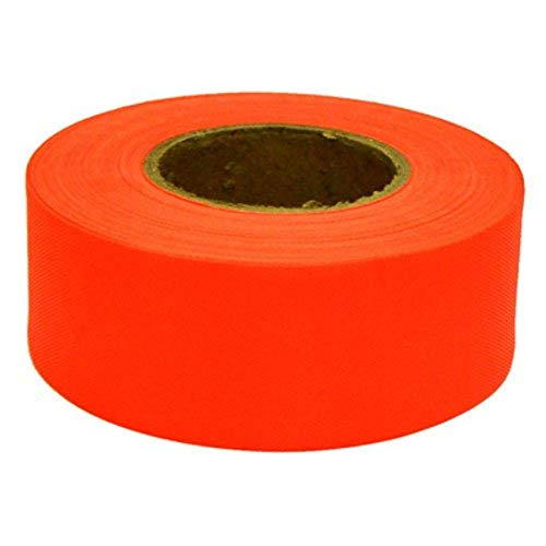 CH Hanson Fluorescent Orange Flagging Tape
