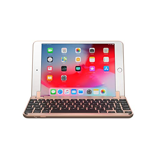 Brydge 7.9 Aluminium Bluetooth Keyboard for iPad mini 4 - Gold