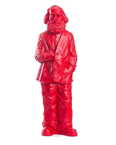 Karl Marx, 2013, signalrot, Kunststoff, 100 x 35 x 21 cm, mit Prägung HÖRL