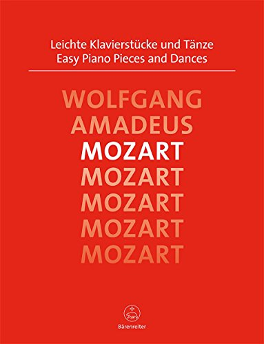 Leichte Klavierstücke und Tänze. Spielpartitur, Sammelband, Urtextausgabe