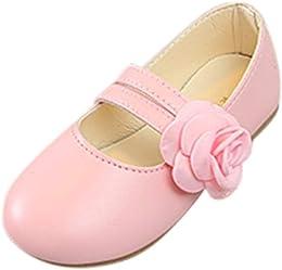 WINJIN Filles Ballerines Chaussures de Princesse M