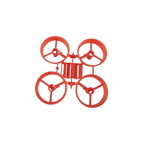 XHUENG DIY Drone Kit Tiny Frame 65Mm Kit/para E010 Jjrc H36 Drone Motor Parts (Color : Red, Size : China)