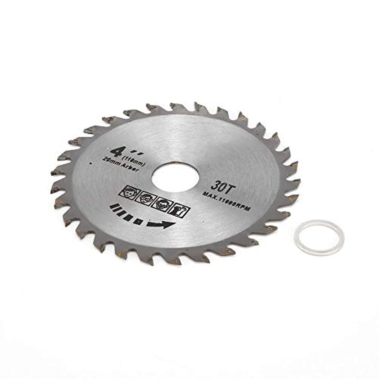 破裂選択前奏曲実用4インチ高速切削30歯高硬度木工丸鋸刃ダイヤモンド切削ブレード - シルバー - 4 'x 30T