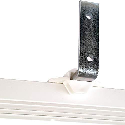 Bestlivings Wandträger für Innenlaufschienen in Länge: 9,5cm, inkl. Montagematerial, Winkelträger zur Wandmontage von Vorhangschienen