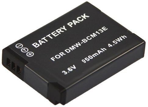 Ersatzakku für die Panasonic Lumix DMC TZ71 TZ61 TZ58 TZ56 TZ41 TZ40 ZS30 - Akku für Panasonic BCM13 (950mAh) inkl. PATONA Displaypad