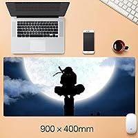ナルトアニメマウスパッド拡張マウスパッド - ゲームマウスパッド - オフィスデスクマットステッチエッジ&スキッドプルーフラバーベース - 15.75 x 35.45インチ-a5_300 * 800 * 3mm