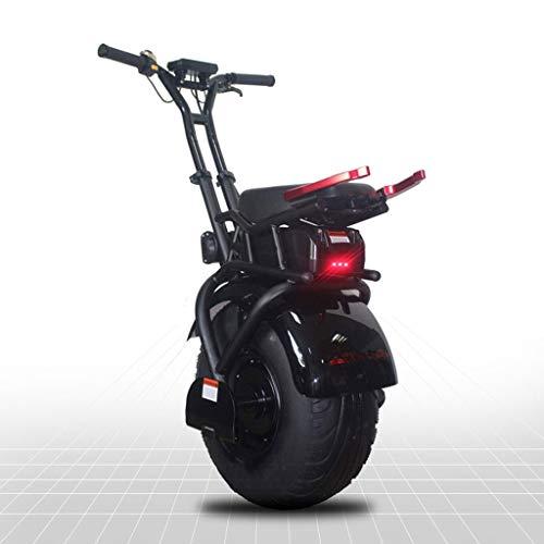 GJZhuan 18 Zoll Big Single Rad-Elektro-Einrad Scooter Selbst Balancing EIN Rad Erwachsener Elektroroller Mit 1000W Leistungsstarke 60V Lithium-Batterie