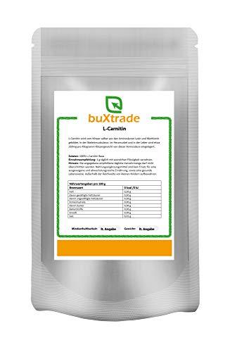 100 g L-Carnitin Base   Pulver   Aminosäure   Nutrition