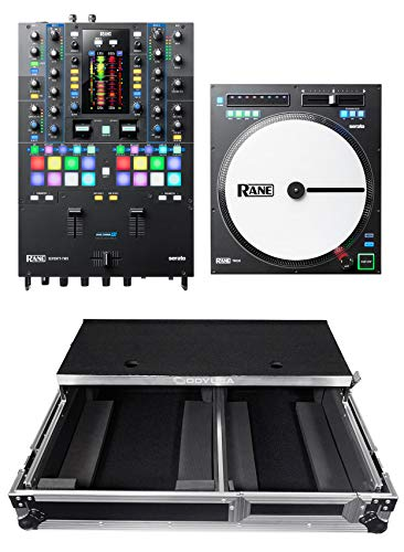 Best Bargain RANE SEVENTY-TWO 2-Ch. Serato DJ Mixer Interface+TWELVE Turntable+Gliding Case