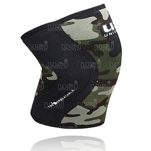 USI Universal KS5 Knee Sleeve: Support for FITNESSS, Cross Training, Knee Injury (KS5_M)