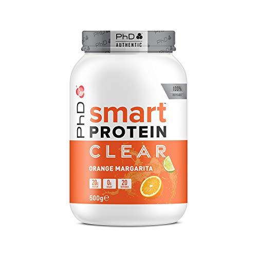 PhD Nutrition Smart Potein Clear, Orange Margarita, 500 g