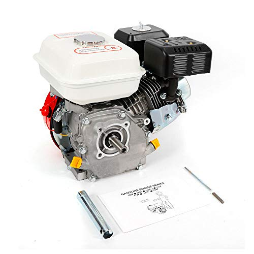 Benzinmotor 4 Takt Motor Ölmangelsicherung Standmotor Kartmotor 5100W 7,5 PS Gokart Rasenmäher Schneefräse Luftkühlung
