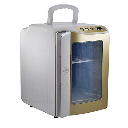 Réfrigérateur de voiture - 20L Voiture Réfrigérateur De Voiture À Double Usage Mini Réfrigérateur Portable Chauffage Du Lait Lait Réfrigéré Chauffage Et Refroidissement Boîte Bureau Maison Voiture ref