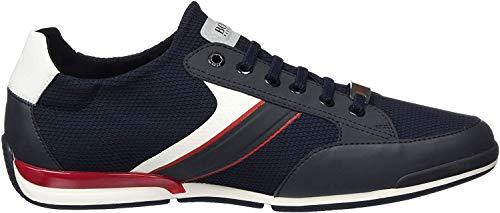 BOSS Herren Saturn_Slon_merb Sneaker, Blau (Dark Blue 401), 42 EU