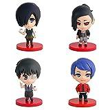 Wmai 4 Unids / Set Pop Tokyo GhoulKanekiKenKirishimaToukaShuuTsukiyamaPVC Figuras De Acción Juguetes Modelo De Colección Muñeca Niños Regalos 8-10Cm
