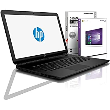 HP (15,6 Zoll HD+) Notebook (AMD A4-9125 2x2.6 GHz, 8GB DDR4, 512 GB SDD, DVD±R/RW, Radeon R3, HDMI, Webcam, Bluetooth, USB 3.0, WLAN, Windows 10 Prof. 64 Bit, MS Office 2010 Starter) #6479