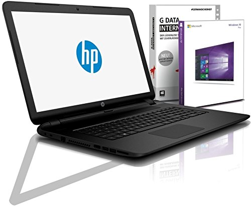 HP (17,3 Zoll) Notebook (Intel N4000 2Core 2x2.60 GHz, 8GB RAM, 1000GB S-ATA HDD, DVD±RW, Intel HD600, HDMI, Webcam, Bluetooth, USB 3.0, WLAN, Windows 10 Prof. 64 Bit, #5565