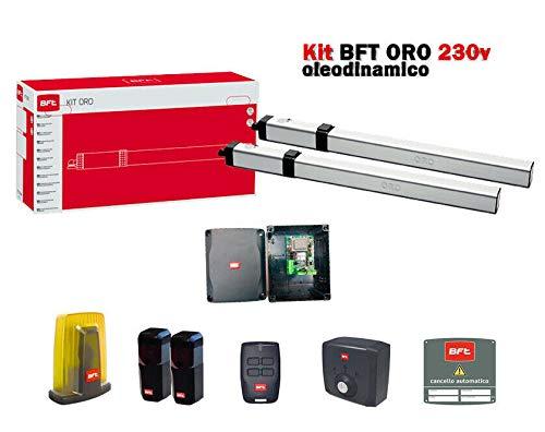 BFT Oro 230 V Kit de automatización de Puerta batiente oleodinámico hidráulico dfm