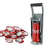 Can Crusher & Bottle Opener - 500ml 16oz 2in1 Heavy Duty Aluminium Drinking Tin Can Recycle Tool for Recycling Beer Cans, Soda Beverage Cans Crusher