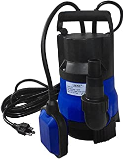 ZENY 1/2HP 2000GPH 400W Submersible Pump Clean/Dirty Water Pump Flood Drain Garden Pond Swimming Pool Pump