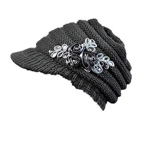 LOPILY Sombreros La Nuevo Sombrero para Dama De OtoñO E...