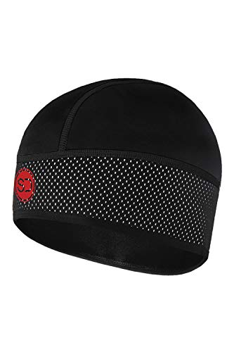Sundried Cycle Skull Cap Lopen Fietsen Winter Onder Helm Athletic Beanie Hat