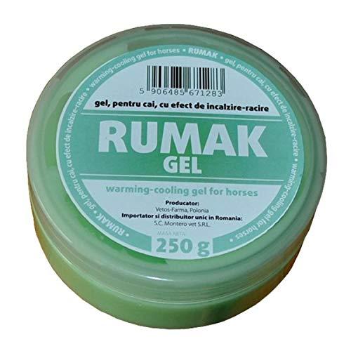RUMAK Gel 250 g Efecto Calor - enfriamiento y relajación con Ingredientes Naturales, RUMAK Gel 250 g Heating Effect - Cooling and Relaxation with Natural Ingredients