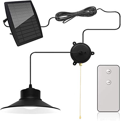 Otdair Solar Pendant Lights, 28LED Solar Powered Shed Light...