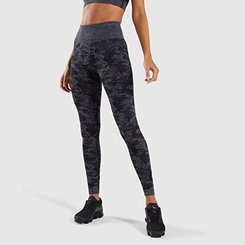 UKKD Leggings Voor Vrouwen Sport Camo Naadloze Leggings Vrouwen Hoge Taille Push Up Elastische Fitness Yoga Broek Gym Tight Camouflage Sport Leggings