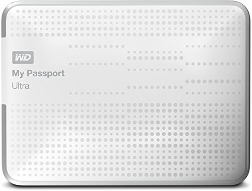 Western Digital MY Passport Ultra - Disco Duro Externo de 1 TB (5400 RPM, USB 3.0, 2.5