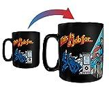 DC Comics – Clark Kent Changing to Superman – Justice League - Morphing Mugs Heat Sensitive Clue Mug – Hidden image appears when hot liquid is added