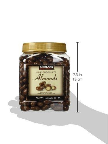KIRKLAND(カークランド)シグネチャミルクチョコレートアーモンド1.36kg