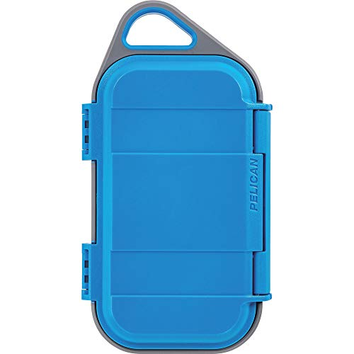 Pelican Go G40 Case - Waterproof Case (Surf Blue/Grey)