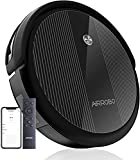 Robot Vacuum Cleaner, 2600Pa Strong Suction Power Robotic Vacuums, WiFi Connected, App Control, Works with Alexa and Google Home, Self Charging, Ideal for Hard Floor, Carpet, Pet Hair, AIRROBO P10