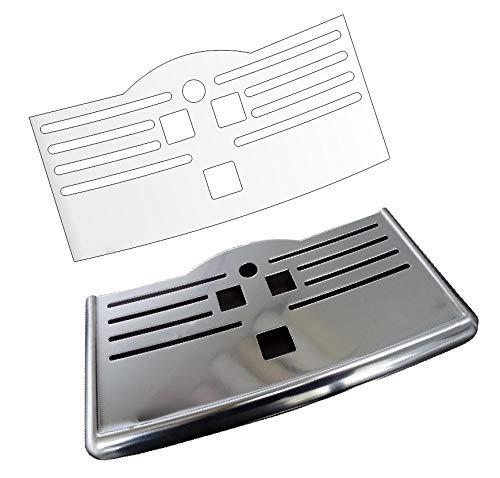 3 x Schutzfolie für Philips Series 5000 LatteGo - Abtropfblech - Tassenablage - Ablage - Tropfblech - EP5346/10 -EP5345/10 - EP 5340/10 - EP5335/10 - EP5334/10 - EP5333/10 - EP5330/10 - EP5315/10