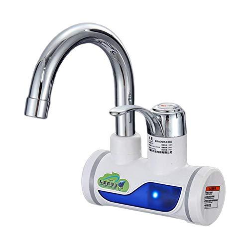 mooderff Schnelle Elektrische Warmwasserbereiter, Durchlauferhitzer Wasserhahn Elektrisch Heiß Kalt Dual Für Küche, Hahn Für Heim Anlage