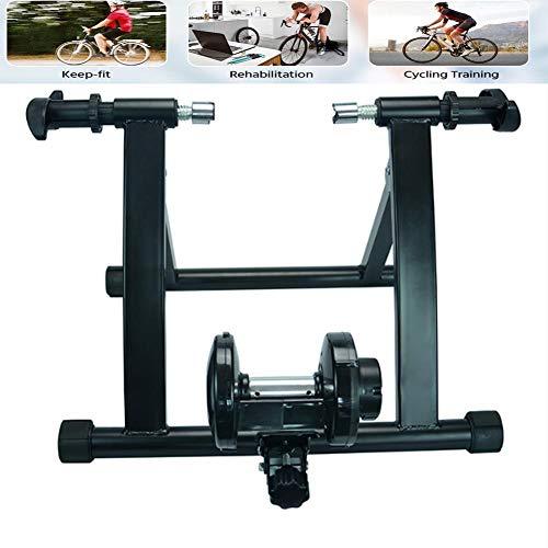 NNZZY Allenamento A Casa, Esercizio al Chiuso, Resistenza Magnetica, Istruttore di Biciclette, Stazione di Allenamento per Biciclette, Rulli di Allenamento