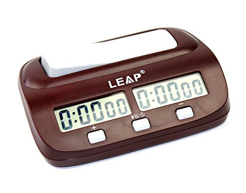 KALESI Reloj Digital de Ajedrez, Tiene Una Caja de Regalo de Marca, es el Regalo Perfecto Para el Jugador.