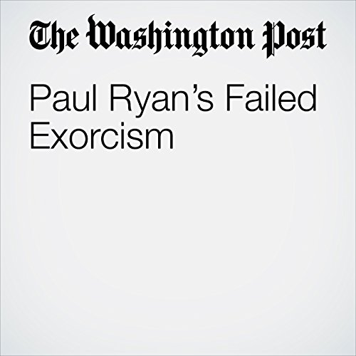 Paul Ryan's Failed Exorcism copertina