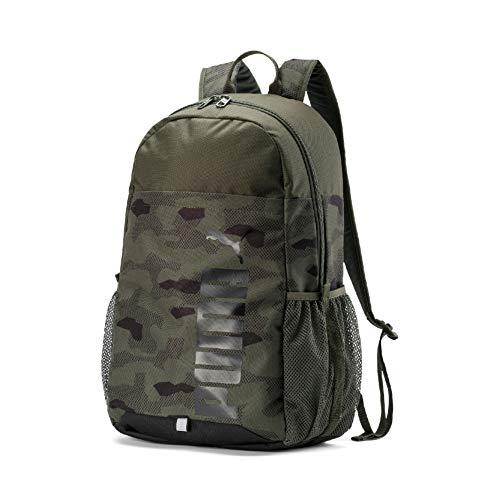 Puma Unisex– Erwachsene Style Backpack Rucksack, Forest Night-Camo AOP, OSFA