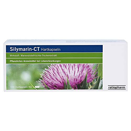 SILYMARIN-CT Hartkapseln 100 St