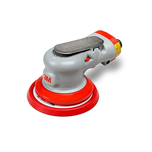 3M Elite Non-Vacuum Random Orbital Sander, 28708, 5 in, 3/16 in Orbit, with Hookit pad, 1 per case