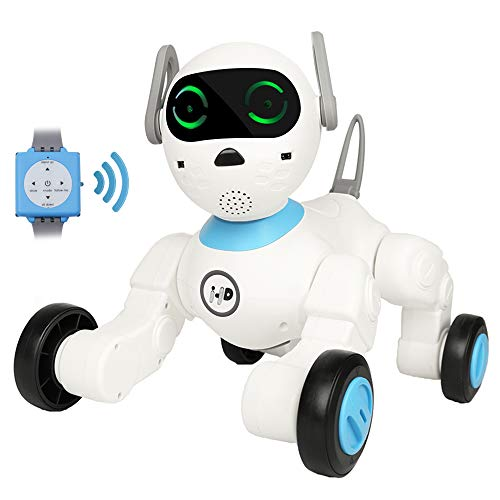 Dnine Smart Robot Dog Billy,APP Controlled Game Feed-Growing-up System Interactive Puppy Cute...